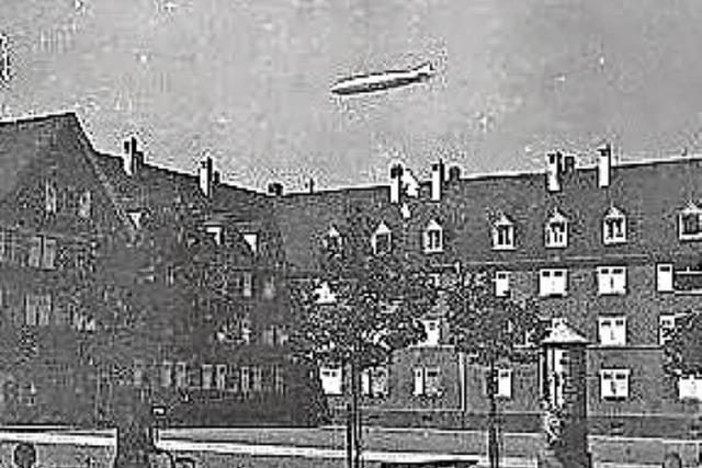 Der Zeppelin in Briefmarkenschau