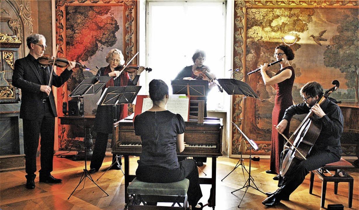 Das Ensemble 1800berlin präsentierte im Schloss Sinfonien von Joseph Haydn.    Foto: Hans Jürgen Kugler