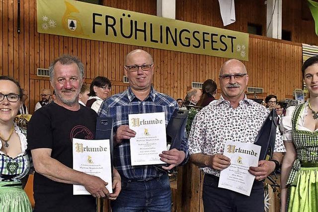 Ehrungen im MV Oberschopfheim
