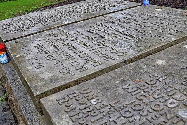 Gedenkstunde für KZ-Opfer auf dem Friedhof