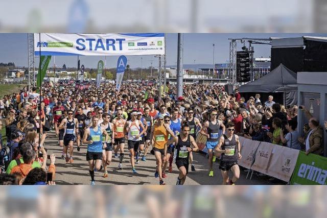 Rund 10 000 Läufer machen Freiburg-Marathon zu ihrem