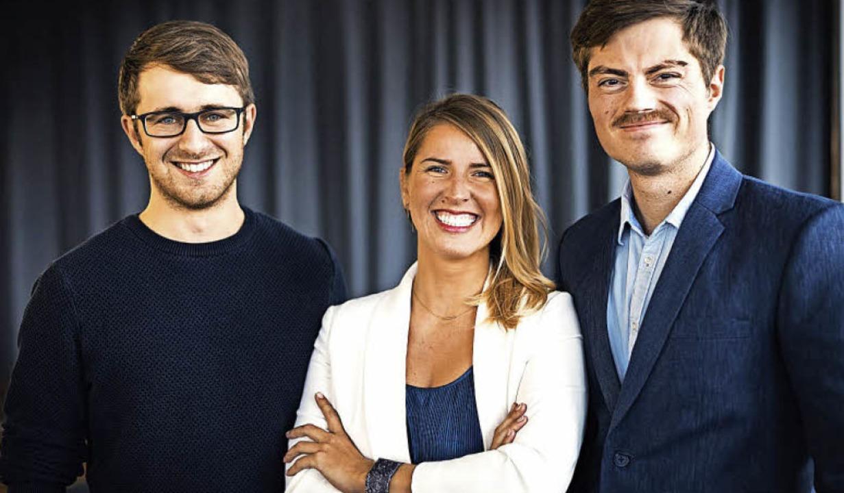 Jerome Meinke (links), Lilian Rettegi ...n gemeinsam die Tomes GmbH gegründet.   | Foto: Marie Schächtele