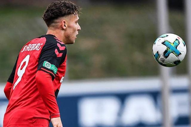 Doppelpack von Schmid beschert der SC-A-Jugend drei Punkte