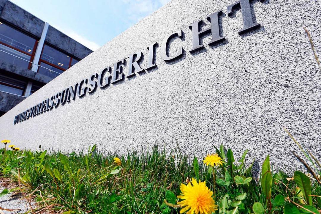 Bundesverfassungsgericht fordert Neuregelung bis Ende 2019.  | Foto: dpa
