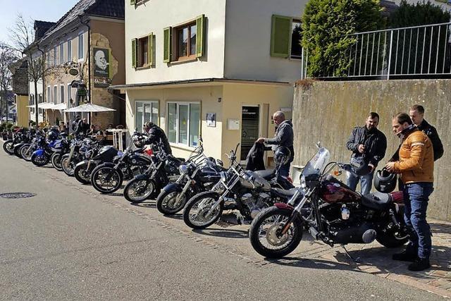 Biker sind unterwegs