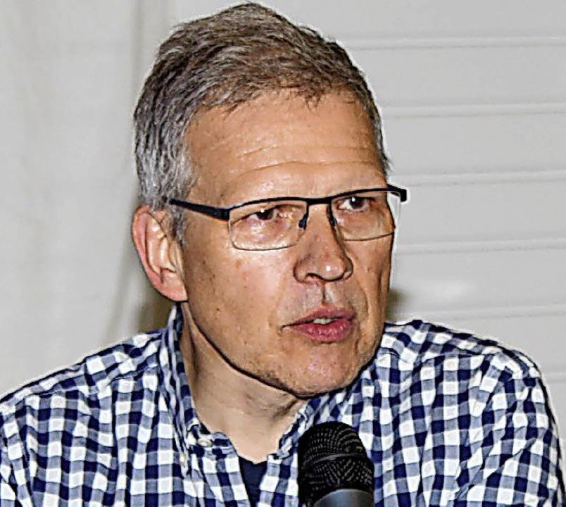 Thomas Wisser vom ZRF  | Foto: Mario Schöneberg