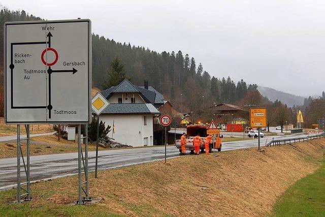 Wehratalstraße ist Mitte nächster Woche wohl wieder offen