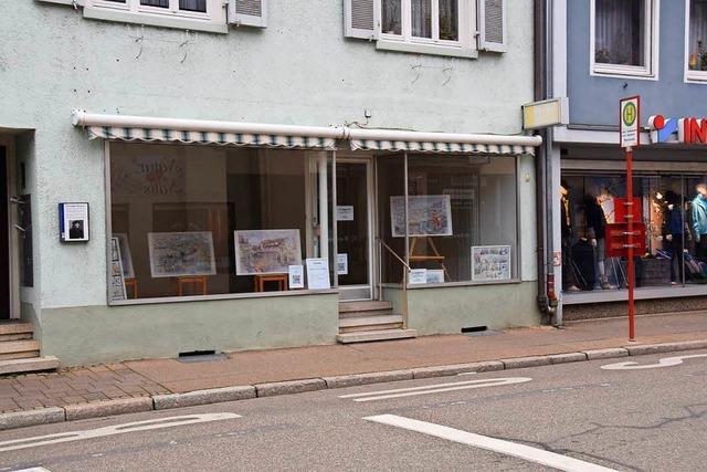 In der Breisacher Innenstadt stehen mehrere Geschäfte leer