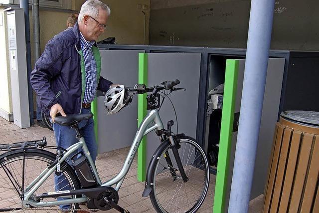 Modellprojekt verbindet Rad und Bus