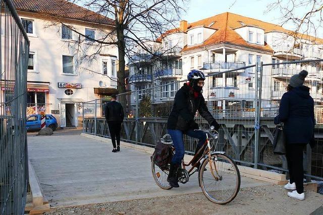 Soll die neue Bernhardusbrücke autofrei bleiben?