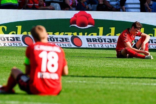 Warum der SC Freiburg nun doch gegen den Abstieg kämpfen muss