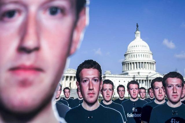 Zuckerberg macht Zugeständnisse