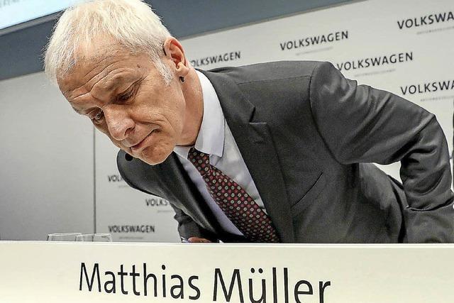 VW-Chef Müller soll gehen