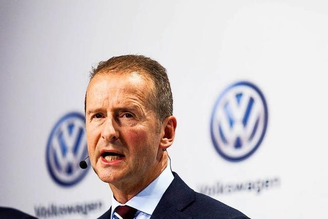 Herbert Diess kann an der VW-Spitze für einen Neubeginn sorgen