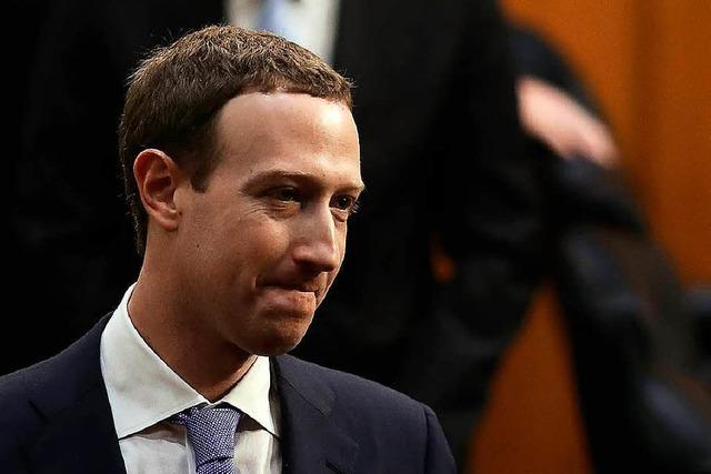 Mark Zuckerberg stand dem US-Kongress Rede und Antwort