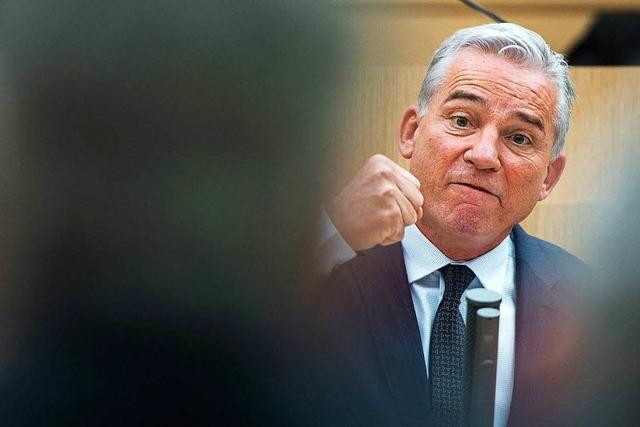 Innenministerium: Strobl hat es in der Hand