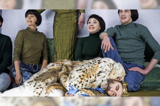 Daniel Foerster inszeniert am Theater Freiburg Rainald Goetz' Trilogie