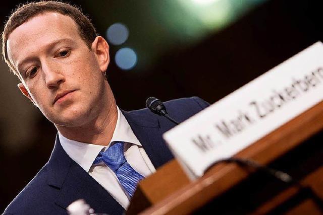 So reagiert das Netz auf die Anhörung von Mark Zuckerberg im US-Kongress