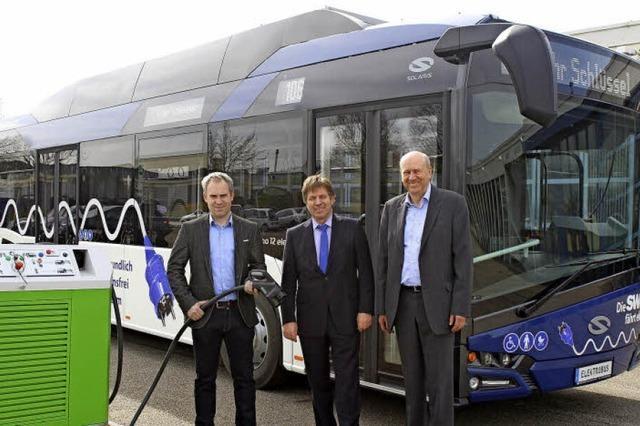 Erster Elektrobus in Lahr