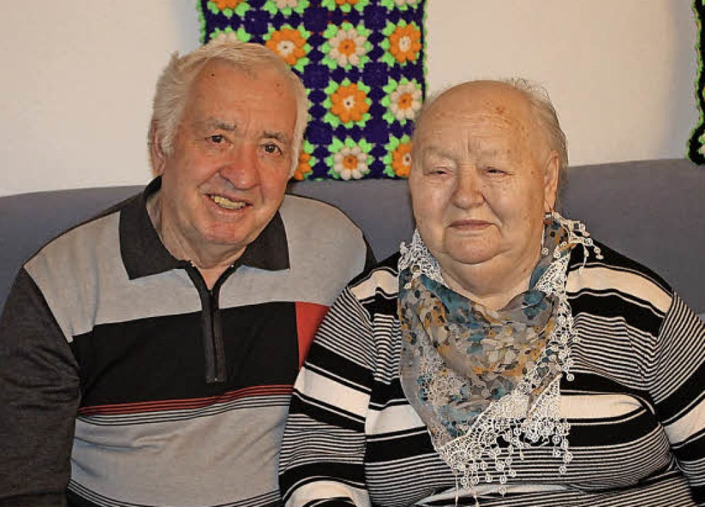 Berta und Artur Basner   | Foto: Hans Spengler