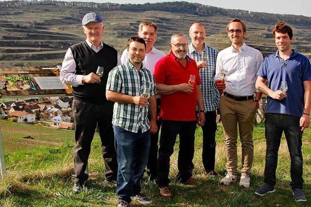 In Oberbergen gibt es einen neuen Weinlehrpfad