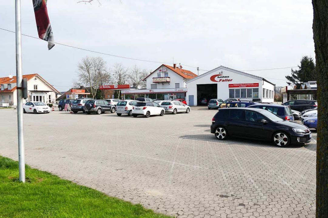 Auf dem Parkplatz soll es immer noch 38 Stellplätze geben.  | Foto: Hans-Peter Müller