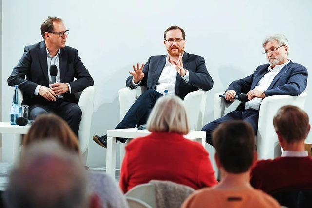 Leser fragen – wir antworten: BZ-Podiumsdiskussion zum Thema Medienvertrauen