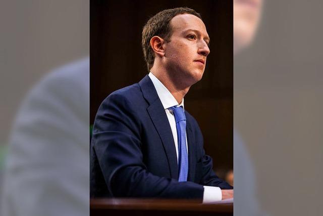 Facebook-Chef Zuckerberg unter Druck
