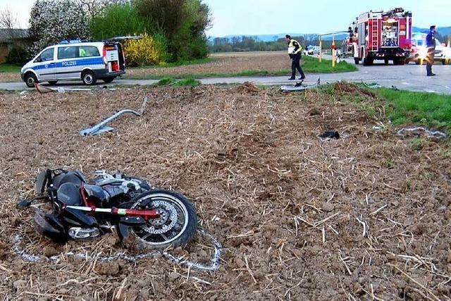 21-jähriger Motorradfahrer erliegt seinen Verletzungen