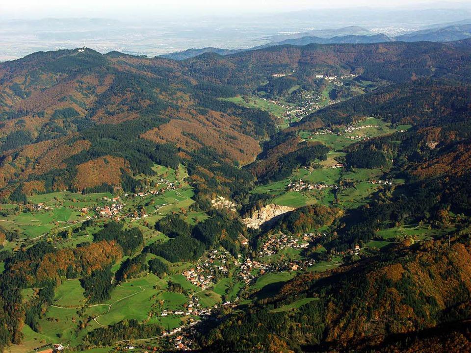 Ländliches Idyll Malsburg-Marzell: Wer möchte da nicht Bürgermeister sein?  | Foto: Erich Meyer
