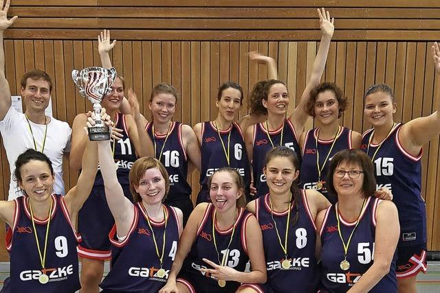 Aufstiegsspiel der Basketballerinnen