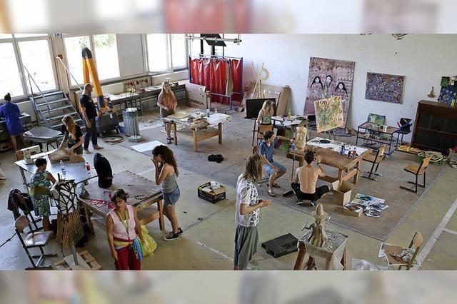 Kick-Off des Jugend-Kunst-Parkour