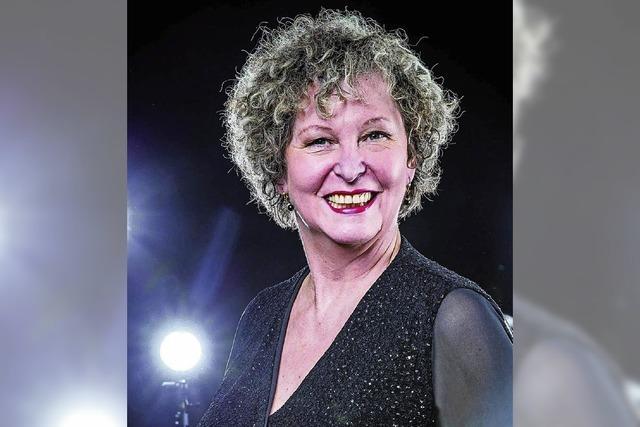 Myrtil Haefs präsentiert am Samstag, 14. April, ihr neues Kabarettprogramm im Ali-Theater in Tiengen.