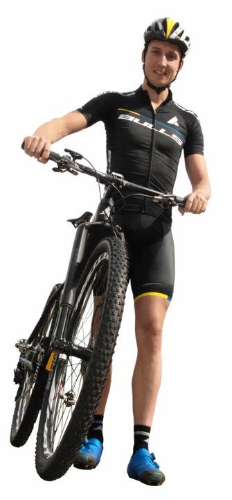 """""""Radfahren ist meine Leidenschaf...imon Stiebjahn. Er lebt seinen Traum.     Foto: J. ruoff"""