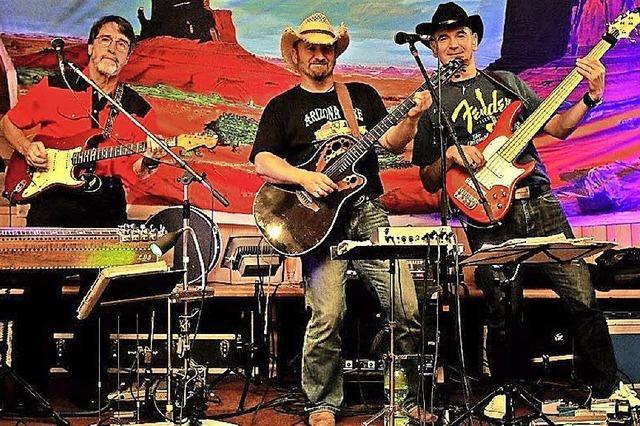 Mit der Band Band Arizona Fire in Titisee-Neustadt