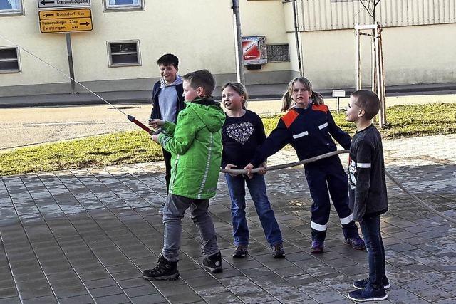 Die Jugend macht begeistert mit