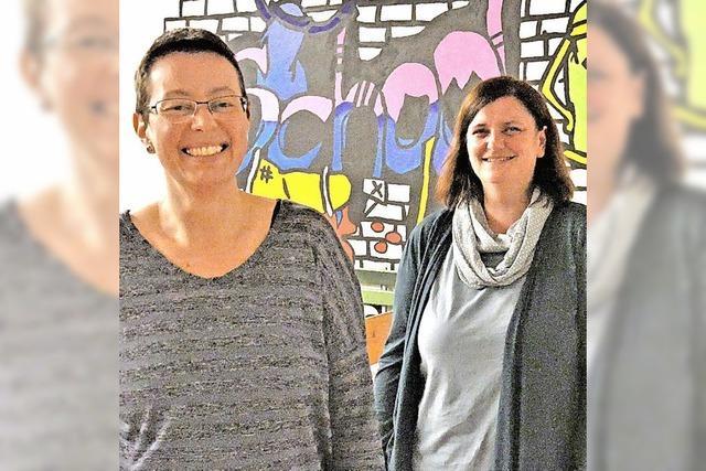 Katrin Huber ist Vorsitzende des Fördervereins Schulzentrum Wehr