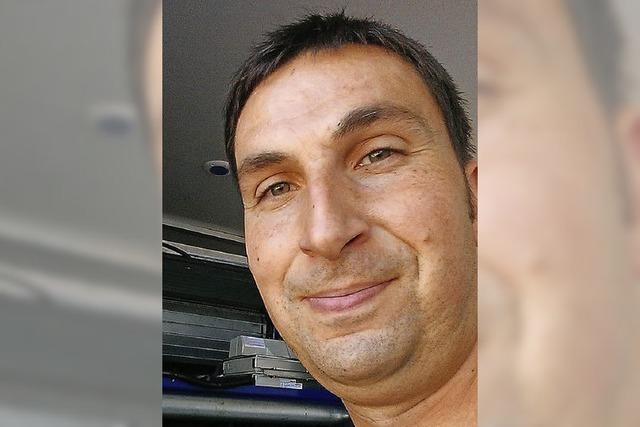 Der 42-jährige Elvino Martin K. aus Münstertal wird vermisst
