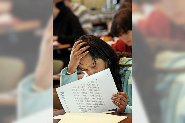 Am Mittwoch beginnen die Abi-Prüfungen