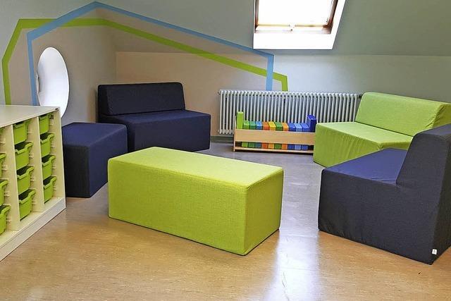 Neuer Wohlfühl-Bereich für Grundschüler in Todtnau