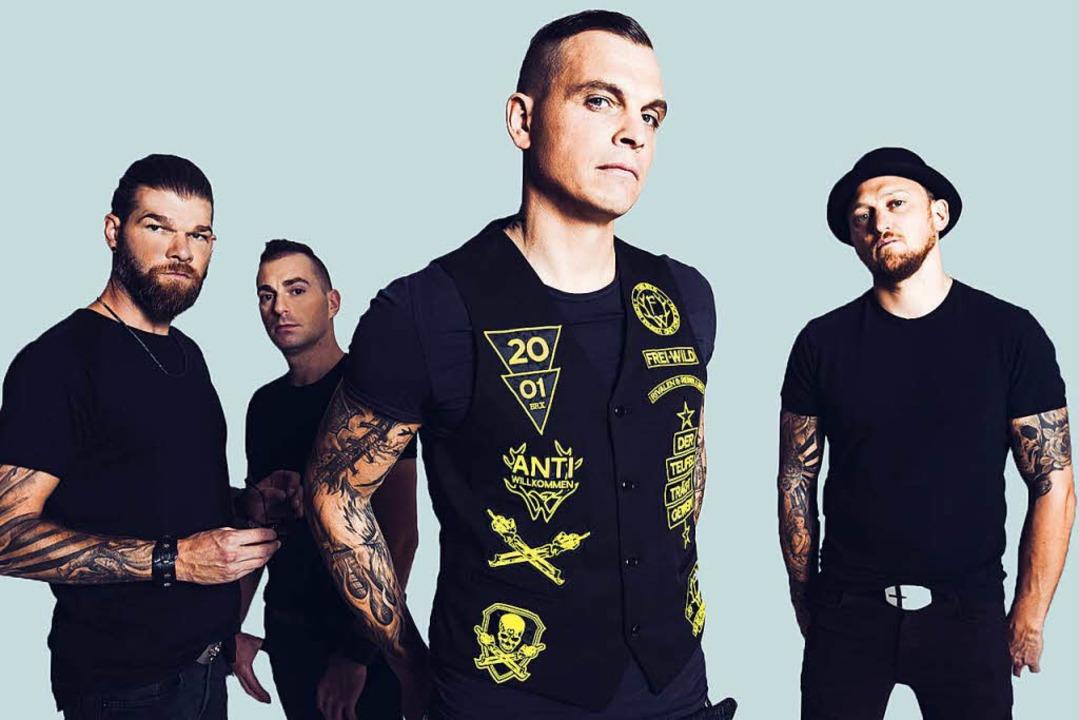 Wie Sich Die Umstrittene Rockband Freiwild Sieht Rock Pop