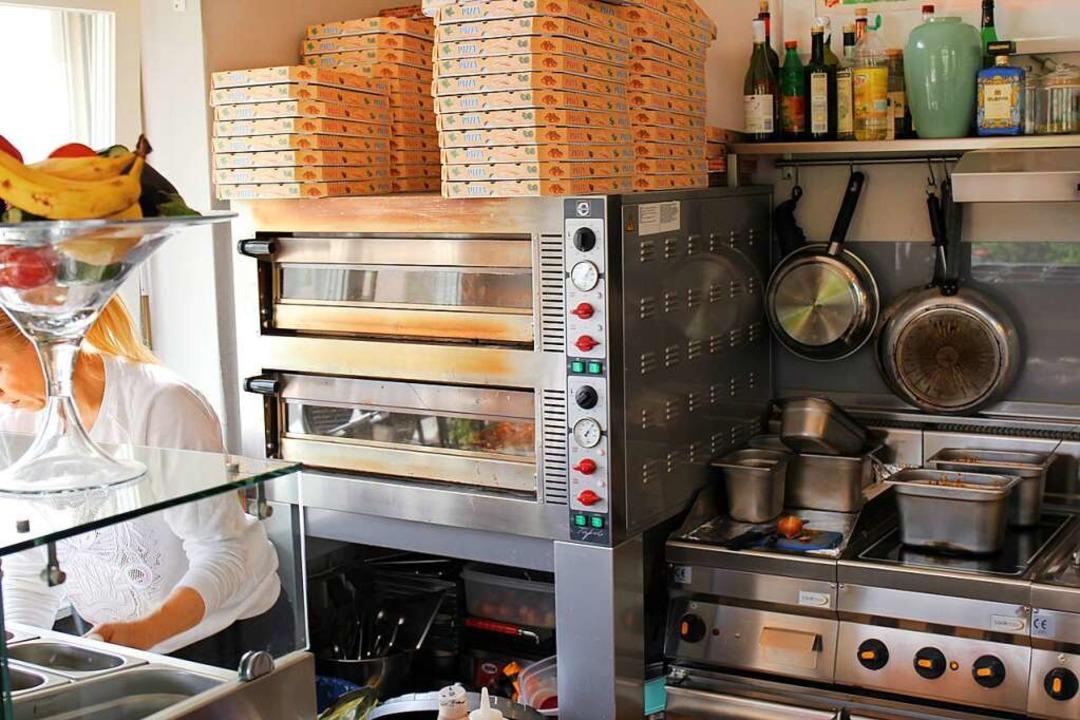 Der Pizzaofen.    Foto: Simon Voss