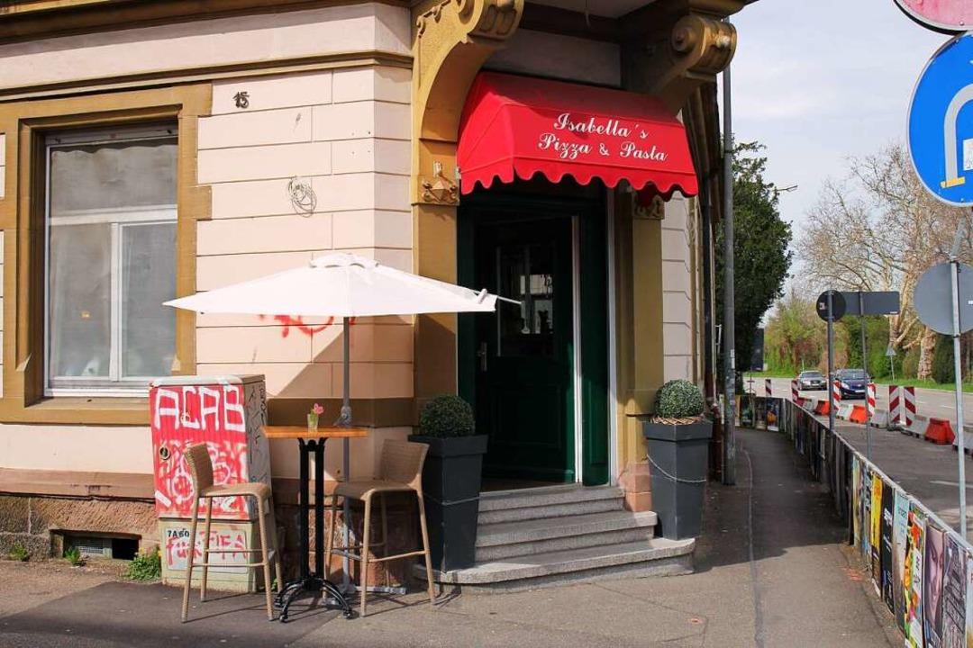 Isabella's Pizza & Pasta lie...ße und Hummelstraße, nahe der Dreisam.    Foto: Simon Voss