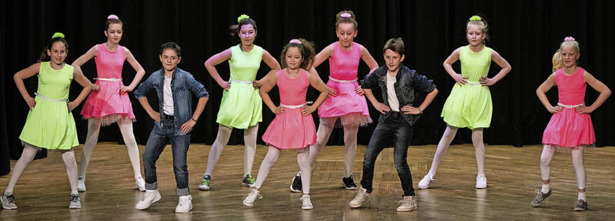 Beim Tanzwettbewerb zeigen Schüler selbst choreografierte Tänze.    Foto: Gabriele Zahn