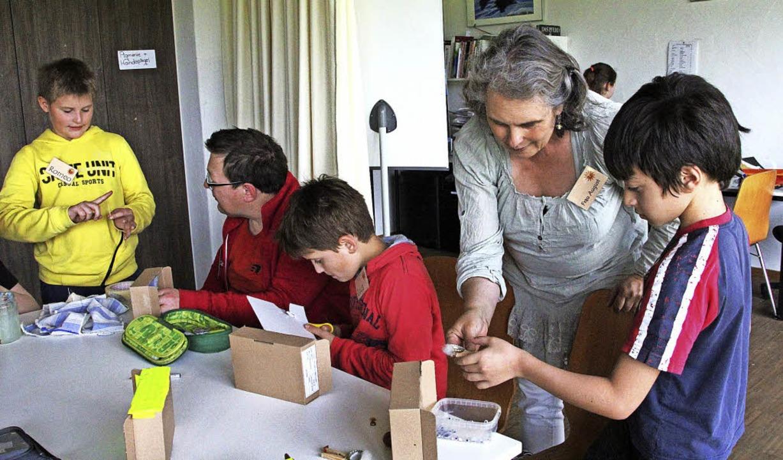 In einem Inklusionsprojekt von Caritas...wie es auch praktisch umgesetzt wurde.  | Foto: Sabine Model