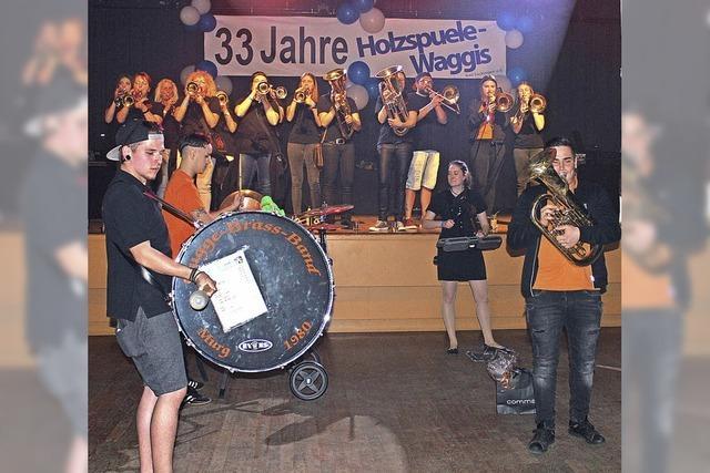 Holzspuele-Waggis feiern Jubiläum