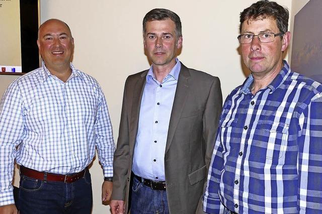 Zwei Stellvertreter für Bürgermeister