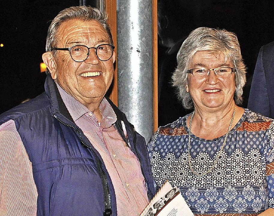 Max Gromann wurde für 50 Jahre CDU-Mit... Ferdinand Lüber fehlt auf dem Bild.      Foto: Ursula Ortlieb