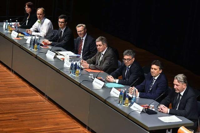 Wie war's bei … der Vorstellung der OB-Kandidaten im Konzerthaus?