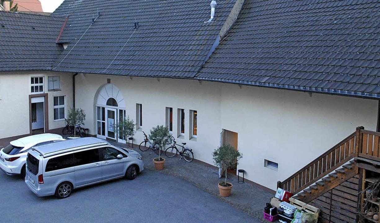 Im rückwärtigen Teil des Gebäudes, in ... Räume für den Musikverein entstehen.   | Foto: Thomas Loisl Mink